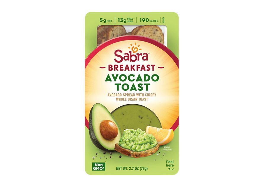 Sabra Breakfast Avocado Toast