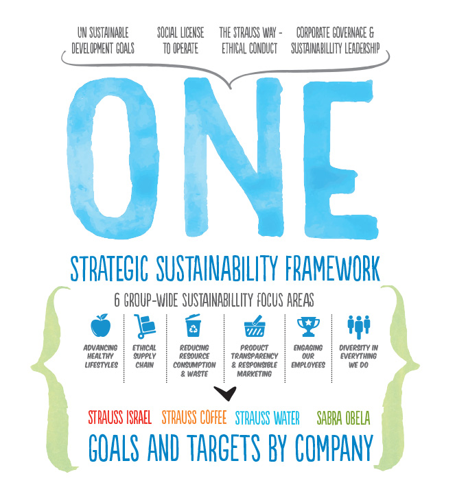 Sustainability strategy and material focus