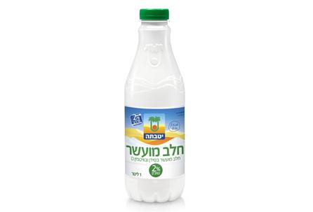 Enriched milk 2% fat 1 liter
