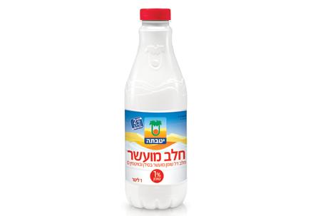Enriched milk 1% fat 1 liter