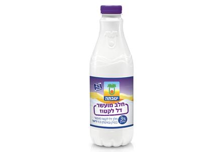 Low lactose milk 3% fat 1 liter
