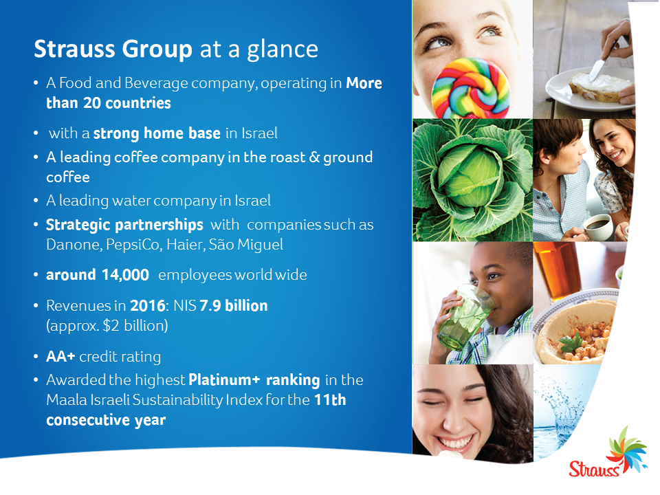 Strauss Group at a glance