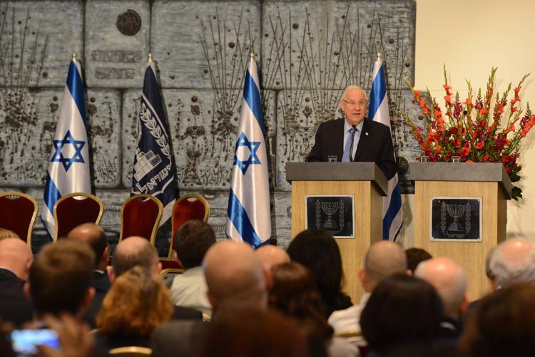 The Israeli president Mr. Reuven (Ruvi) Rivlin